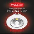 Точечный LED светильник 6W яркий свет
