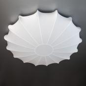 Светильник припотолочный на 3 лампы D.60см белый Clouds Ромашка