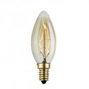 Лампа Эдисона C35 цоколь E14 220В