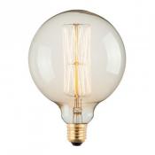 Лампа Эдисона G125 цоколь Е27 220В