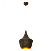 Светильник подвесной LP-44 260мм (позолота)