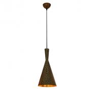 Светильник подвесной LP-45 185мм (позолота)