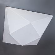 Светильник припотолочный 45x45 см белый Clouds Ромб в квадрате на 3 лампы