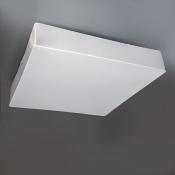 Светильник припотолочный 60x60 см белый Clouds Квадрат на 6 ламп