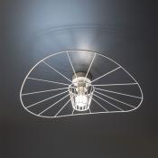 Потолочный светильник белый LADY, диаметр 60 см