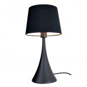 Настольная лампа Black and White, цвет черный