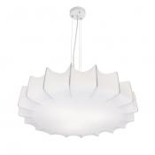 Светильник припотолочный, диаметр 52 см, белый Clouds на 3 лампы