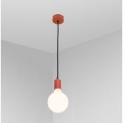 Подвесной светильник красный / черный FIREFLY