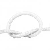 Провод в тканевой оплетке белый