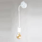 Настенный светильник в стиле лофт LNS-31 (белый)