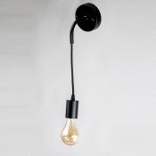 Настенный светильник в стиле лофт LNS-30 (черный)