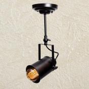 Универсальны светильник трек 7А черный