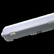 Линейный led светильник 40Вт яркий свет корпус пластик