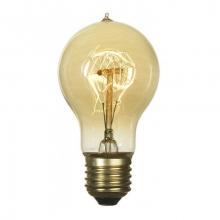 Лампа Эдисона E27 A19-40W 2700K Amber 220V