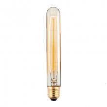 Лампа Эдисона E27 T30 (185мм) 40W 2000K Amber 220V