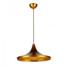 Светильник подвесной LP-46 350мм (золотой)