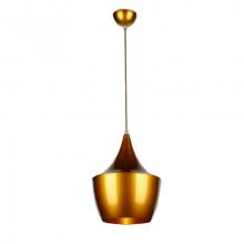 Светильник подвесной LP-44 270мм (золотой)