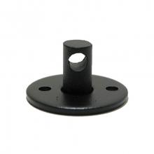 Потолочный крепеж провода (черный)