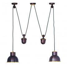Подвесной светильник PS-15 ( коричневый )