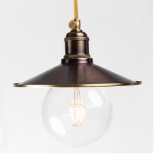 Подвесной светильник PS-27 ( коричневый )