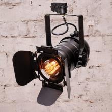 Потолочный светильник в стиле лофт LPM-6-1 (черный) (трек)