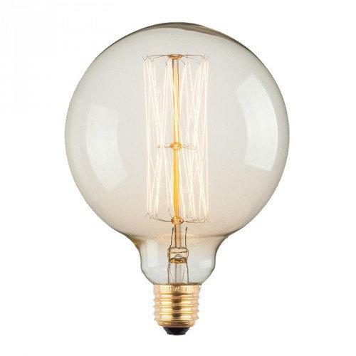 Лампа Эдисона E27 G125-40W 2700K Amber 220V