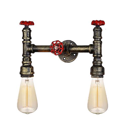 Настенный светильник из труб ST-2