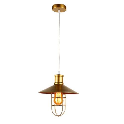 Подвесной потолочный ретро светильник SPL-1 (золотой)