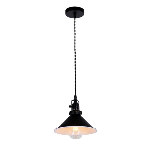Потолочный светильник в стиле лофт LP-14 черный