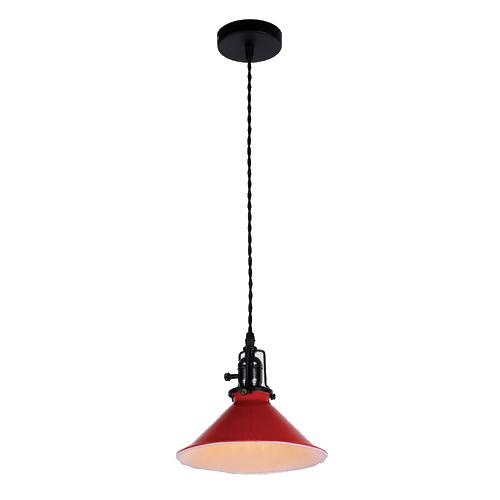 Потолочный светильник в стиле лофт LP-14 красный