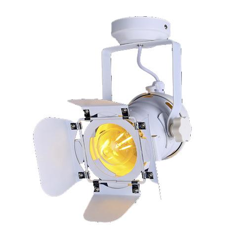 Потолочный светильник в стиле лофт LPM-6 (белый)