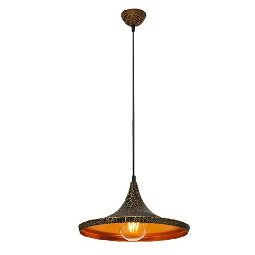 Светильник подвесной LP-46 365мм (позолота)