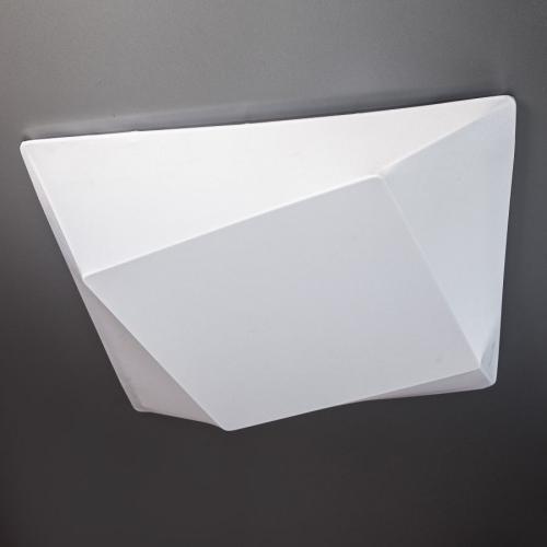Светильник припотолочный 45x45 см белый Clouds Квадрат в квадрате на 3 лампы