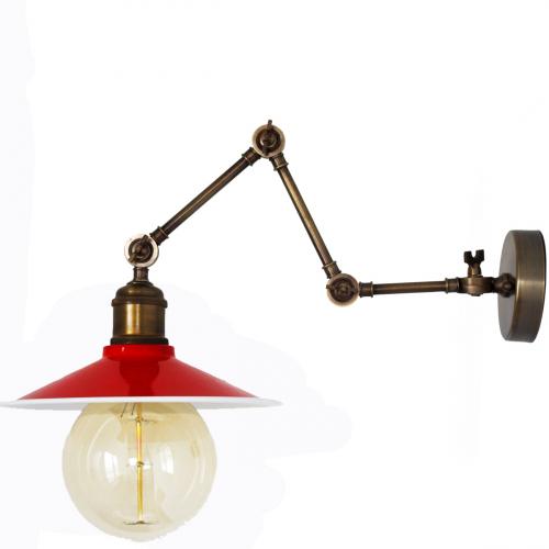 Настенный светильник P-10 ( красный )