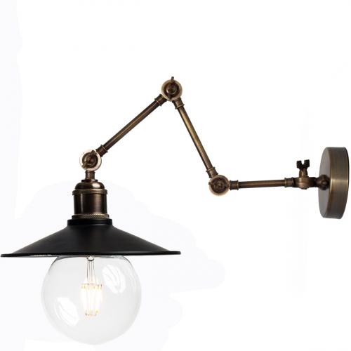 Настенный светильник P-10 ( черный )