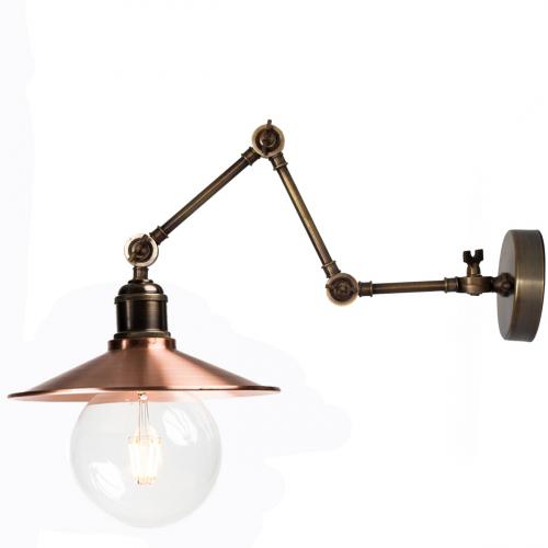 Настенный светильник P-11 ( бронза )