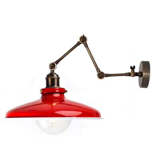 Настенный светильник P-12 ( красный )