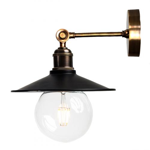 Настенный светильник P-21 ( черный )