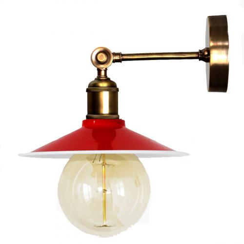 Настенный светильник P-21 ( красный )