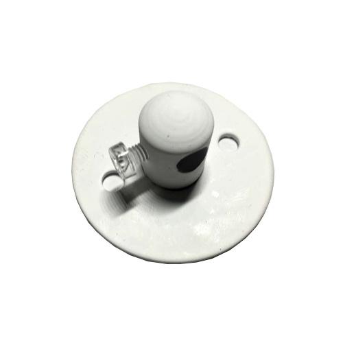 Потолочный крепеж провода (белый)