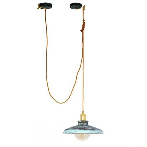 Подвесной светильник PS-28 ( зеленый )