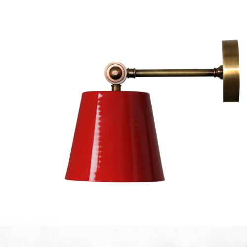 Настенный светильник в стиле лофт LNS-21 (красный)