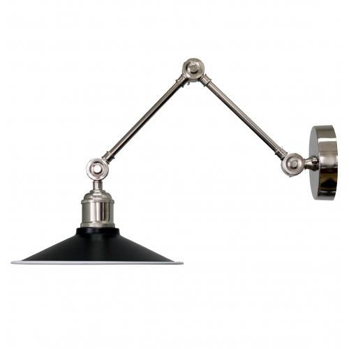 Настенный светильник в стиле лофт LNS-22 (черный)