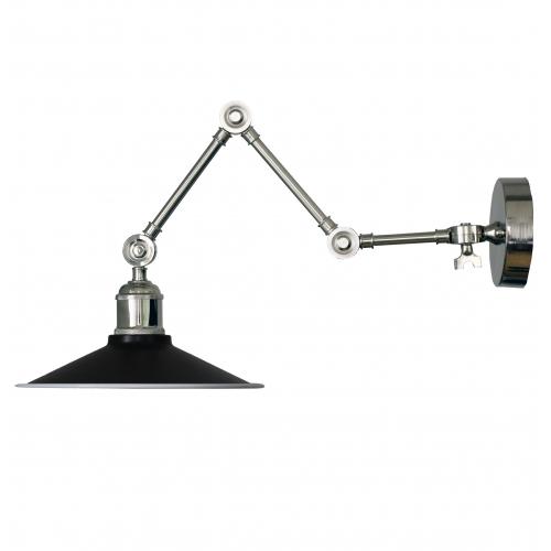 Настенный светильник в стиле лофт LNS-23 (черный)