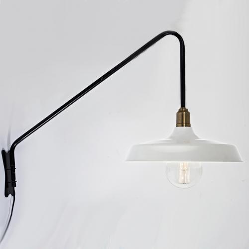 Настенный светильник в стиле лофт LNS-26 (белый)
