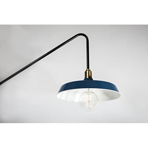 Настенный светильник в стиле лофт LNS-26 (синий)