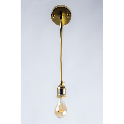 Настенный светильник в стиле лофт LNS-32 (золотистый)